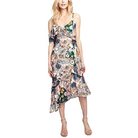 RACHEL Rachel Roy Dresses & Skirts - Rachel Roy Asymmetrical Hem  Sleeveless Dress